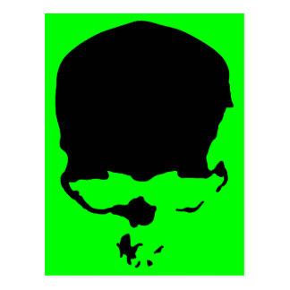 9313032011 Skull (Gothic & Dark) Postcard