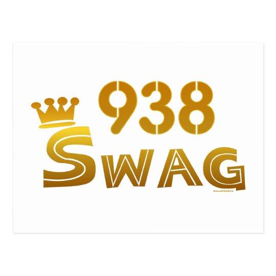 938 Alabama Swag Postcard