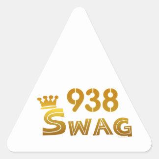 938 Alabama Swag Triangle Sticker