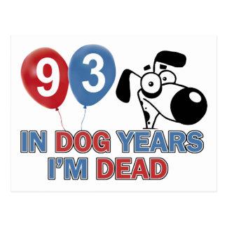 93.a fiesta de cumpleaños del año postal
