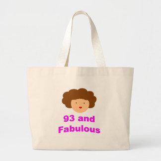 93 and Fabulous! Jumbo Tote Bag