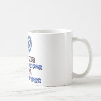 93 and over the hill birthday designs coffee mug