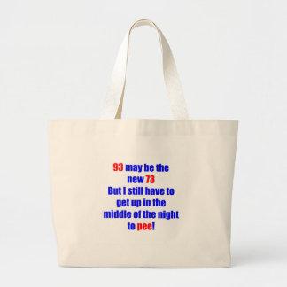 93 new 73 jumbo tote bag