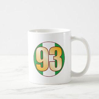 93 NIGERIA Gold Coffee Mug