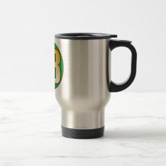 93 NIGERIA Gold Travel Mug
