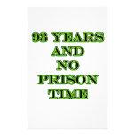 93 ninguna hora de prisión papeleria