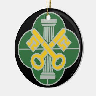 93.o Batallón de la policía militar - DUI Adorno Redondo De Cerámica
