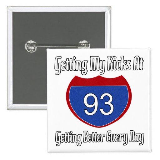 93.o cumpleaños de la ruta 66 pins