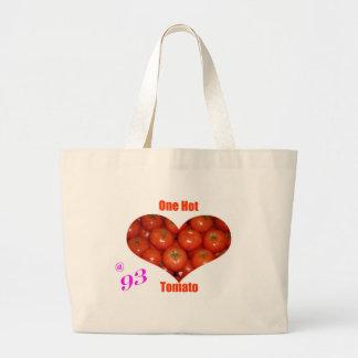 93 One Hot Tomato Jumbo Tote Bag