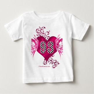 93 racing number butterflies baby T-Shirt