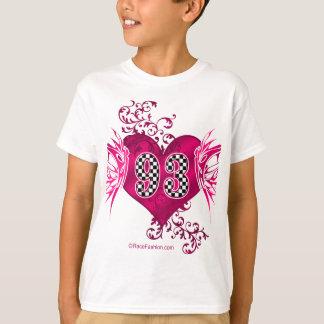 93 racing number butterflies T-Shirt