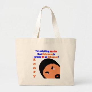 93 Scary Birthday Jumbo Tote Bag