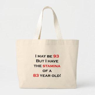 93 Stamina Jumbo Tote Bag