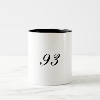 93 Two-Tone COFFEE MUG