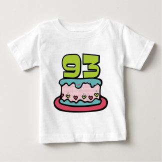 93 Year Old Birthday Cake Baby T-Shirt