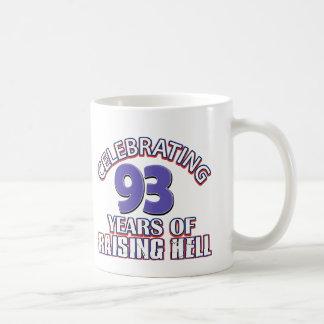 93 year old designs coffee mug