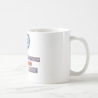93 year old wisdom birthday designs coffee mug