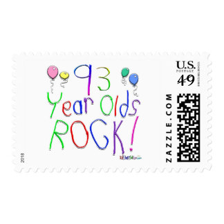 93 Year Olds Rock ! Postage