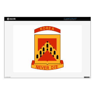 """93rd Armored Field Artillery Decals For 15"""" Laptops"""