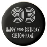 "[ Thumbnail: 93rd Birthday - Art Deco Inspired Look ""93"", Name ]"