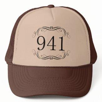 941 Area Code Hat