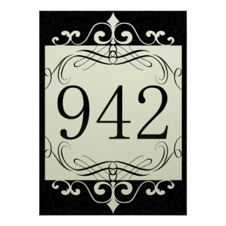 942 Area Code Poster