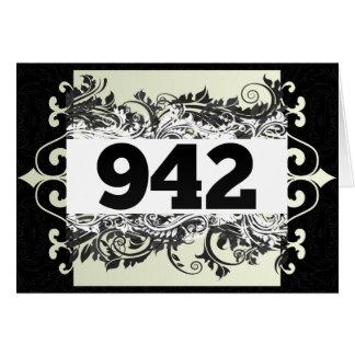 942 GREETING CARD