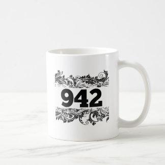 942 CLASSIC WHITE COFFEE MUG