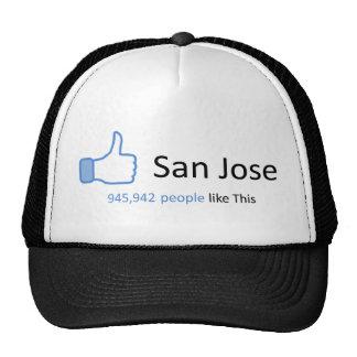 945942 people like San Jose Trucker Hat