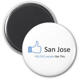 945942 personas tienen gusto de San Jose Imán Redondo 5 Cm
