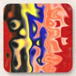 94 Alt Abstract:  Modern Art Beverage Coaster