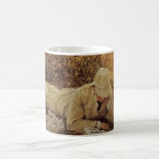 94 Degrees in the Shade, Sir Lawrence Alma Tadema Coffee Mug