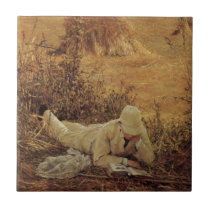 94 Degrees in the Shade, Sir Lawrence Alma Tadema Tile