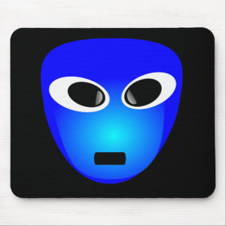 94-Free-3D-Extra-Terrestrial-Smiley-Face-Clipart-I Mouse Pad