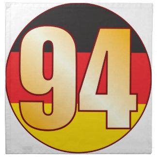 94 GERMANY Gold Cloth Napkin