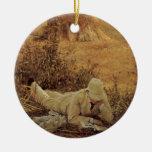 94 grados en la sombra, sir Lorenzo Alma Tadema Adornos De Navidad