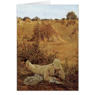 94 grados en la sombra sir Lorenzo Alma Tadema Tarjeta