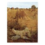 94 grados en la sombra, sir Lorenzo Alma Tadema Postal