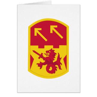 94.o Brigada de la artillería de la defensa aérea Tarjeta De Felicitación