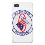 94.o Caso del iPhone del escuadrón de caza iPhone 4/4S Fundas
