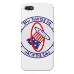 94.o Caso del iPhone del escuadrón de caza iPhone 5 Protectores