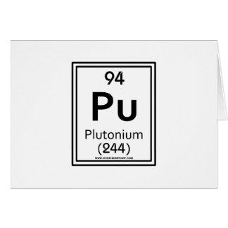 94 Plutonium Greeting Card