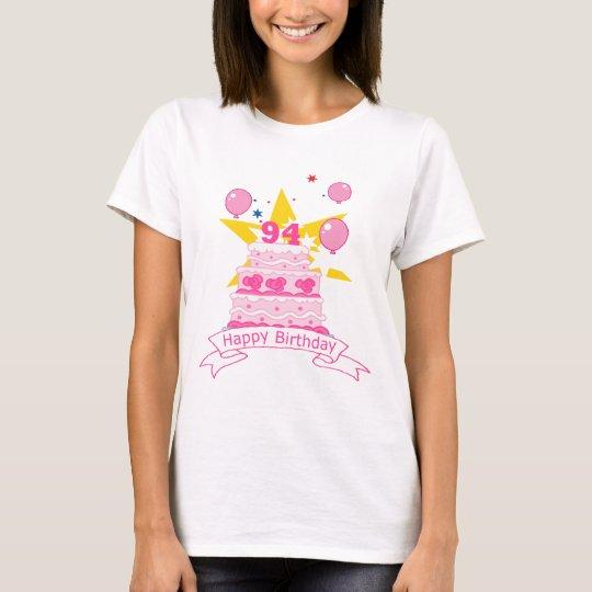 94 Year Old Birthday Cake T-Shirt