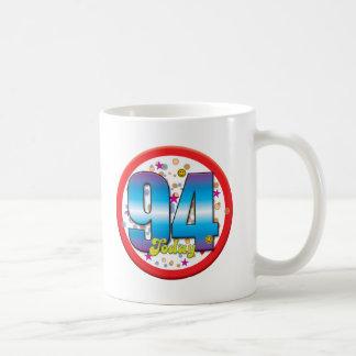 94th Birthday Today v2 Classic White Coffee Mug