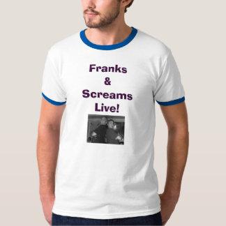 952124784405_0_BG, Franks&ScreamsLive! T-shirt