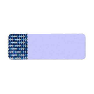 952 BLUE ARGYLE PATTERN CLOTH BACKGROUNDS DIGITAL LABEL
