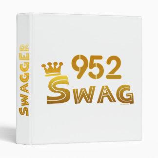 952 Minnesota Swag Binder