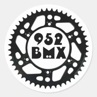 952BMX Shotgun Sprocket Sticker