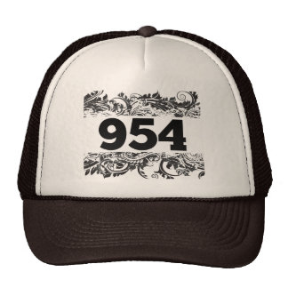 954 area code california area code hats and area code trucker hat