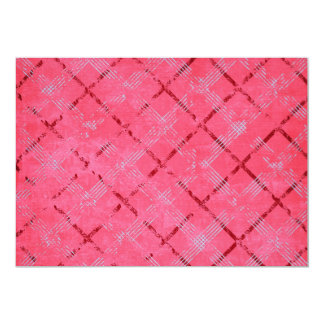 955 COTTONCANDY GIRLY PINK ARGYLE BACKGROUND PATTE CARD
